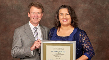 Penn State honors alumnus Dr. Melissa Frank-Alston for leadership and service Image