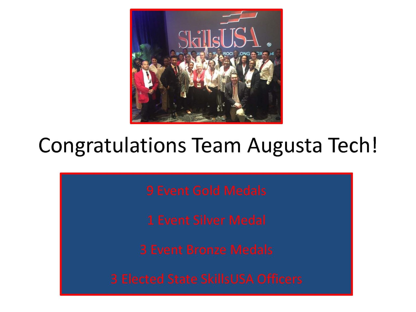 Augusta Technical College SkillsUSA 2018